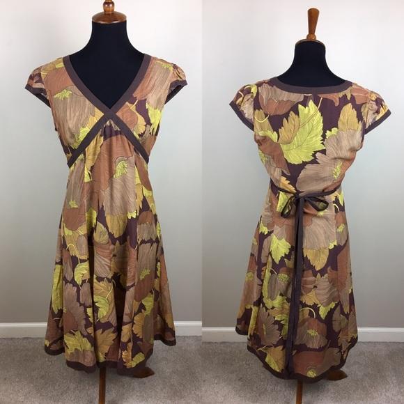 Anthropologie Dresses & Skirts - Maeve Anthropologie cap sleeve dress size 10